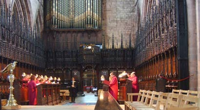 Heritage Singers in Ripon Cathedral